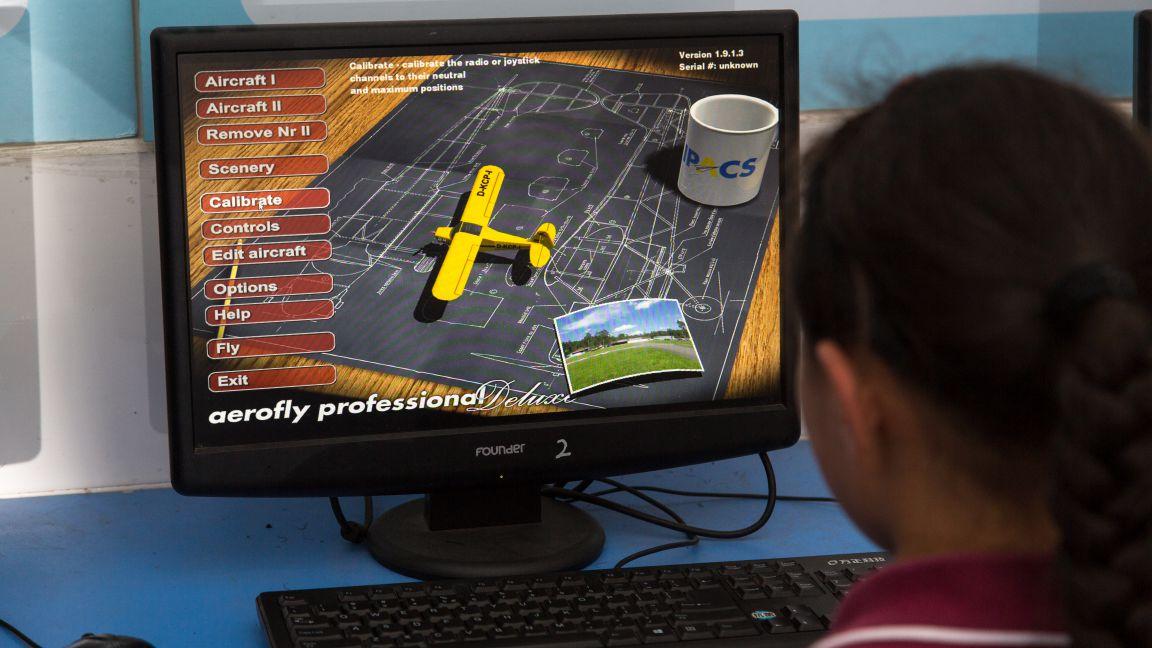 航模模拟训练
